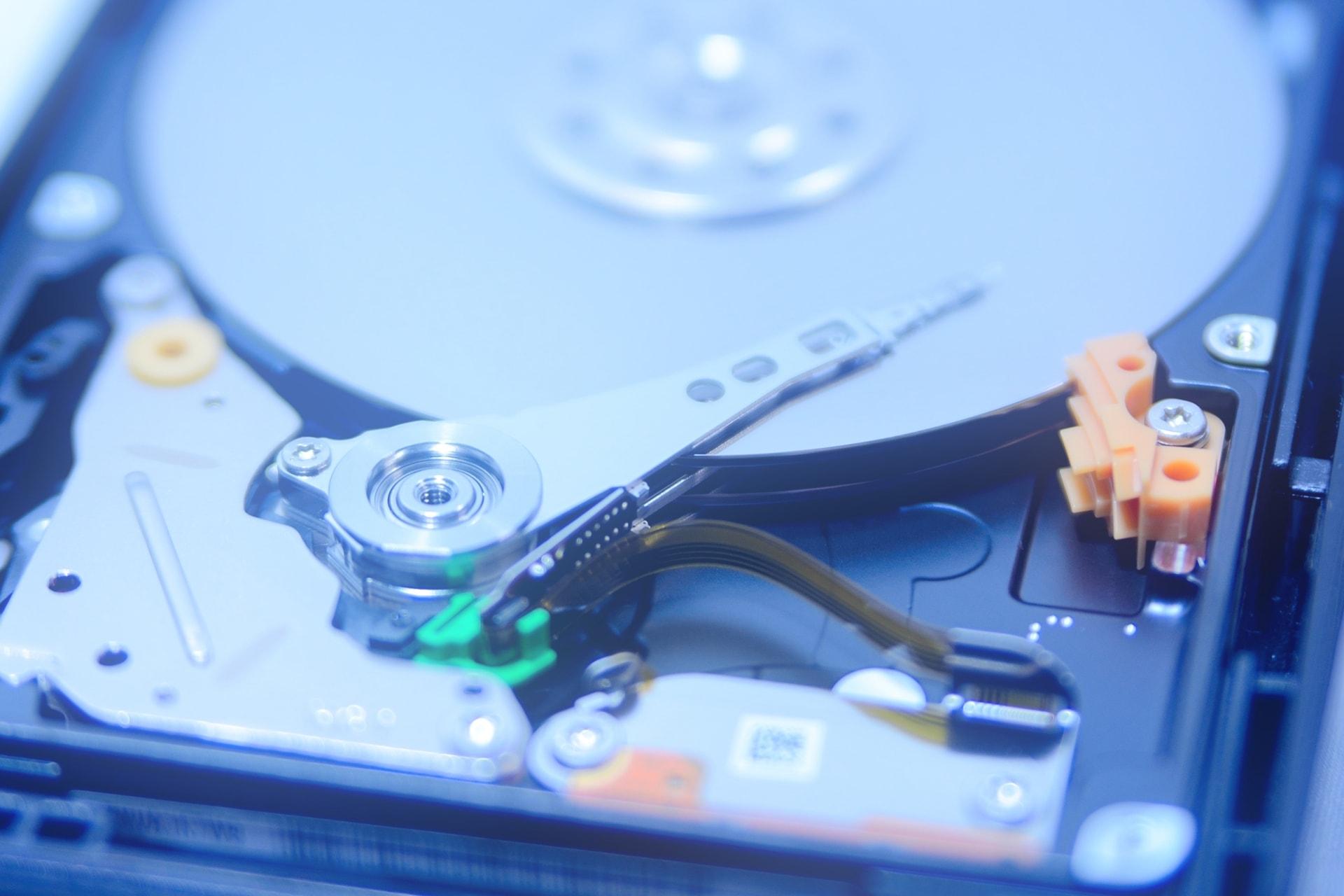 HDDのイメージ